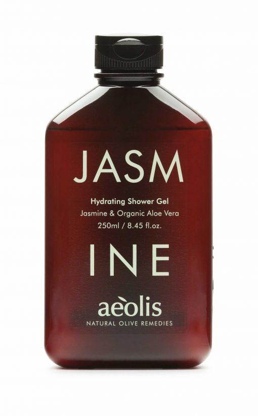 Shower gel για την Εντατική Βαθιά Ενυδάτωση με Βιολογική Αλόη Βέρα & Γιασεμί, 250ml