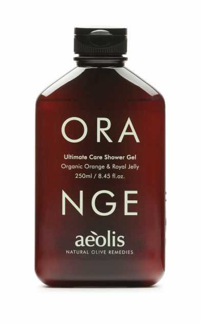 Shower gel για την ΟΛΟΚΛΗΡΩΜΈΝΗ ΚΑΘΗΜΕΡΙΝΗ ΠΕΡΙΠΟΙΗΣΗ του σώματος με Βασιλικό Πολτό και Βιολογικό Πορτοκάλι, 250 ML