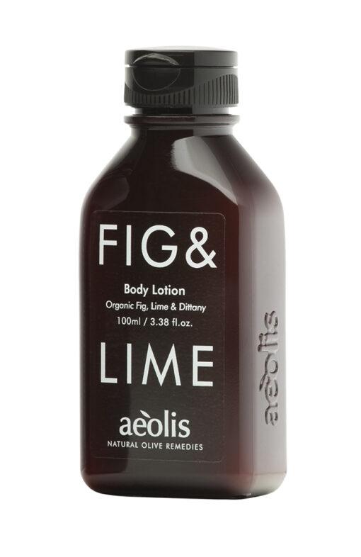 Γαλάκτωμα Σώματος (body lotion) για την Αμεση Αναζωογόνηση και Ενέργεια ΤΟΥ ΣΩΜΑΤΟΣ με Βιολογικό Σύκο, Μοσχολέμονο (Lime) & Δίκταμο Κρήτης, 100 ML
