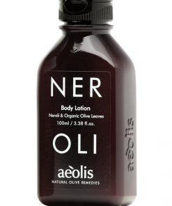 Γαλάκτωμα Σώματος (body lotion) για την Βαθιά Θρέψη της επιδερμίδας με Φύλλα Ελιάς Βιολογικής Καλλιέργειας & Νερολί, 100ml