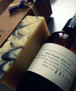 Baby Powder Body oil 100ml