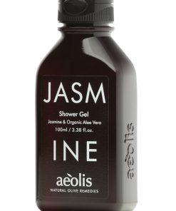 Shower gel για την Εντατική Βαθιά Ενυδάτωση με Βιολογική Αλόη Βέρα & Γιασεμί, 100ml