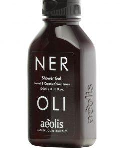Shower gel για την Βαθιά Θρέψη της επιδερμίδας με Φύλλα Ελιάς Βιολογικής Καλλιέργειας & Νερολί, 100ml
