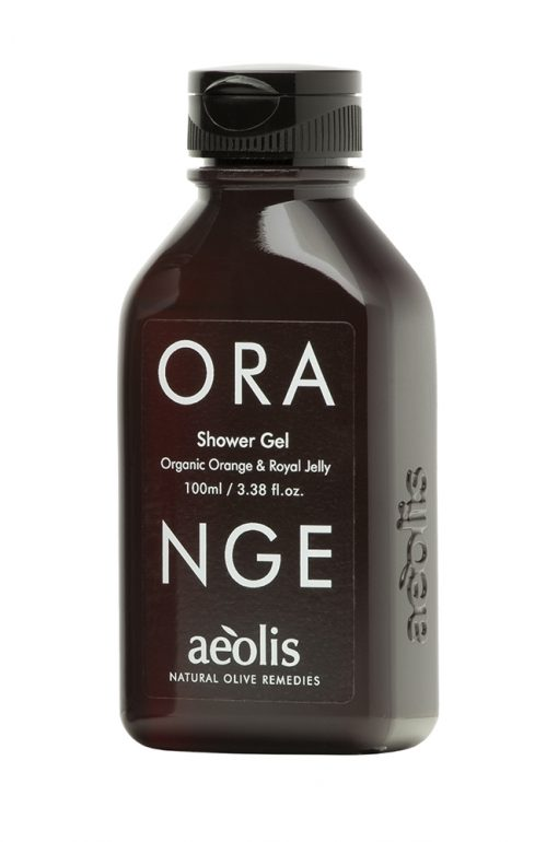 Shower gel για την ΟΛΟΚΛΗΡΩΜΈΝΗ ΚΑΘΗΜΕΡΙΝΗ ΠΕΡΙΠΟΙΗΣΗ του σώματος με Βασιλικό Πολτό και Βιολογικό Πορτοκάλι, 100 ML