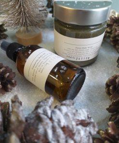 Πακέτο δώρου με Cinderella Bοdy oil 100ml και Body Scrub Forest/ Του δάσους 212ml